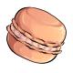 Apricot Macaron