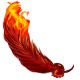 Flaming Phoenix Wings