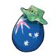 Australian Easter Egg