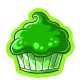 Radioactive Cupcake