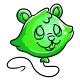 Green Justin Balloon