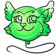 Green Kaala Balloon