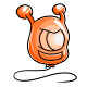Orange Huthiq Balloon
