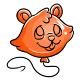 Orange Justin Balloon