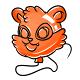 Orange Snookle Balloon