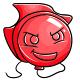 Red Kronk Balloon