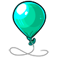 Teal Balloon