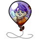 Lazy Fairy Balloon