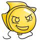 Yellow Kronk Balloon