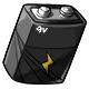 Black 9V Battery