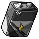 Grey 9V Battery