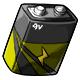 Olive 9V Battery