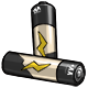 Beige AA Battery