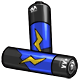 Blue AA Battery