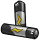 Grey AA Battery