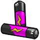 Magenta AA Battery