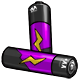 Purple AA Battery