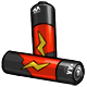 Red AA Battery