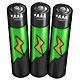 Green AAA Battery