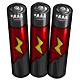 Maroon AAA Battery