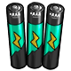 Teal AAA Battery