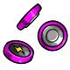 Magenta Button Battery