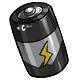 Grey C Battery