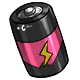 Pink C Battery