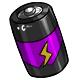 Purple C Battery