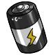 White C Battery