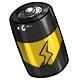 Yellow C Battery