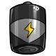 Grey D Battery
