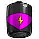Magenta D Battery