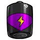 Purple D Battery