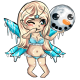 Sweltering Ice Fairy Doll