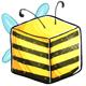 Bee Sugar Cube