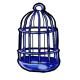 Blue Birdcage