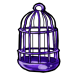Purple Birdcage