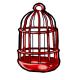 Red Birdcage