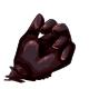Liquorice Gummy Hand