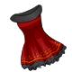 Seasonal Black Ruffle Dress