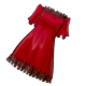 Black Ruffle Nightgown