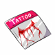 Bloody Neck Tattoo