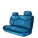 Blue Back Seat