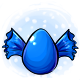 Blue Candy Glowing Egg