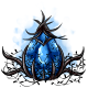 Cursed Blue Glowing Egg