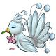 Blue Flower Osafo Plushie