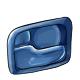 Blue Inner Door Handle