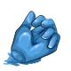 Blueberry Gummy Hand