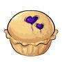 Blueberry Love Pie